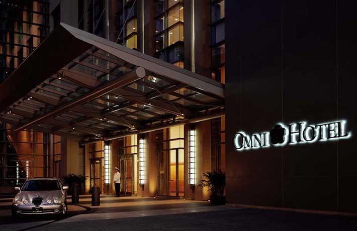 Omni Hotel in Gaslamp Quarter